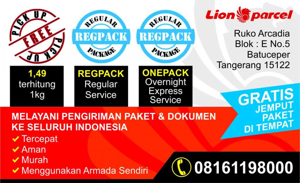 Lion Parcel Arcadia 08161198000