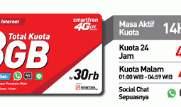 Voucher Data Smartfren 8GB